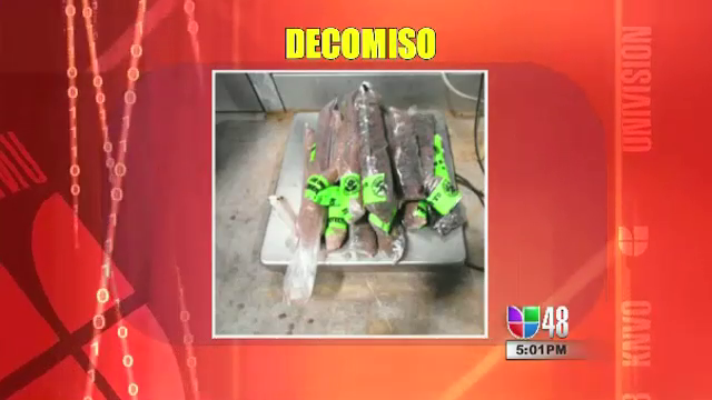 Gran Decomiso de Drogas en la Ciudad de Pharr