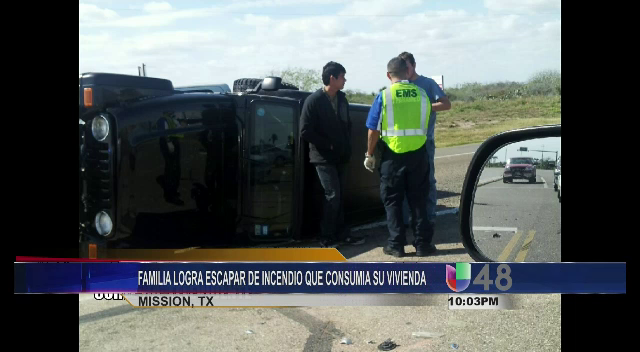 Accidente De Tres Vehiculos, Una Volcadura En Laguna Vista