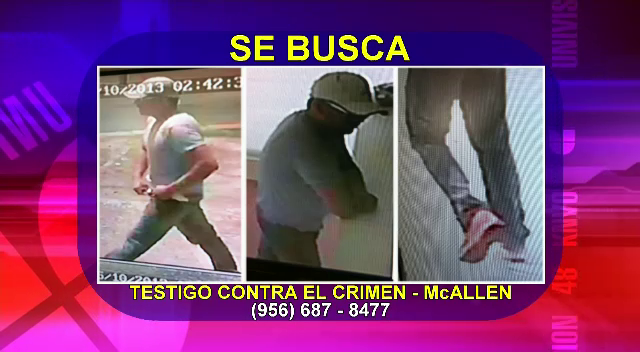 Autoridades De McAllen Buscan A Ladrn